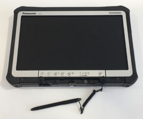 "Panasonic Toughbook CF-D1 Mk1  6GB RAM 240GB SSD Win 10 Pro 13.3"" Touch Screen - Used"